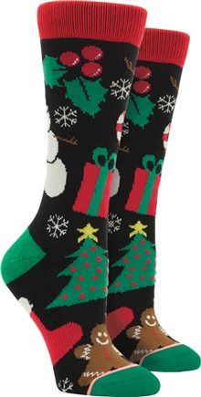 Stance Christmas socks http://www.swell.com/Womens-Accessories/STANCE-HOLIDAY-HOLWUP-TOMBOY-SOCK?cs=BL