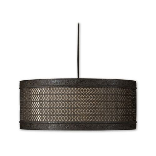 Drum Pendant Lights in Semi-Matte Black Finish  sc 1 st  Pinterest & Best 25+ Uttermost lighting ideas on Pinterest | Kitchen granite ... azcodes.com