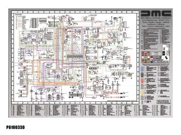 Delorean Wiring Diagram Pop Up Delorean Diagram
