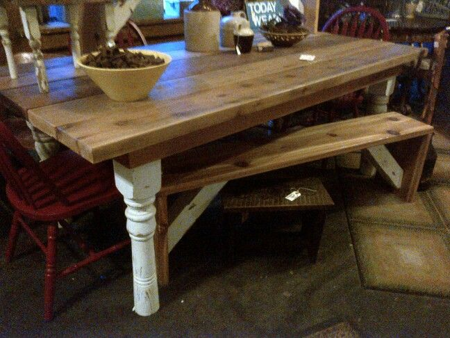 Cedar Outdoor Harvest Table