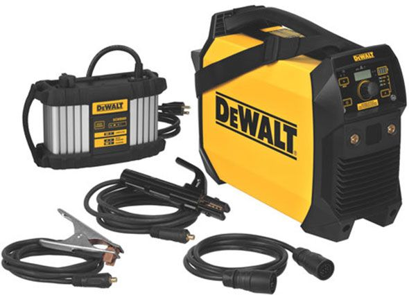 Wow, we didn't see this coming – Dewalt is reaching into the welding market with a new cordless welder!