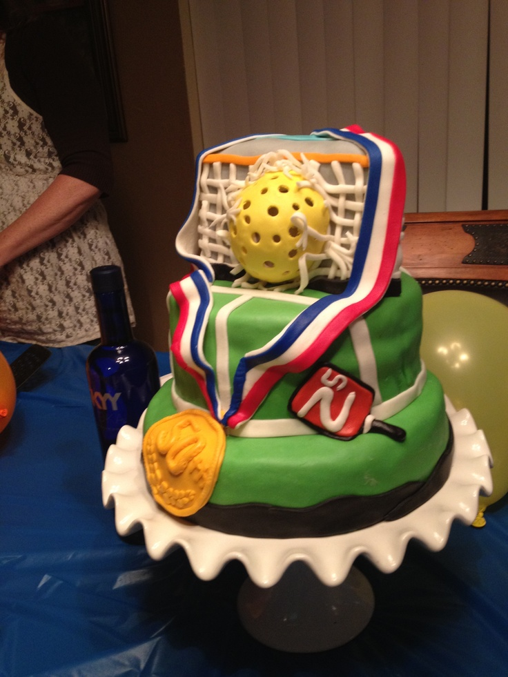 Pball Cake Pickleball Cake Desserts Party