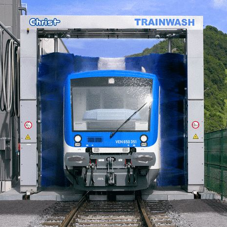 Passenger Train Wash Equipment - Products - AutoWash