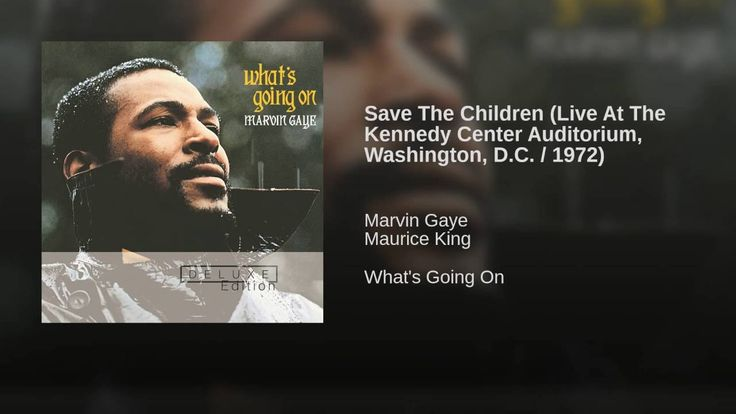 Save The Children (Live At The Kennedy Center Auditorium, Washington, D....