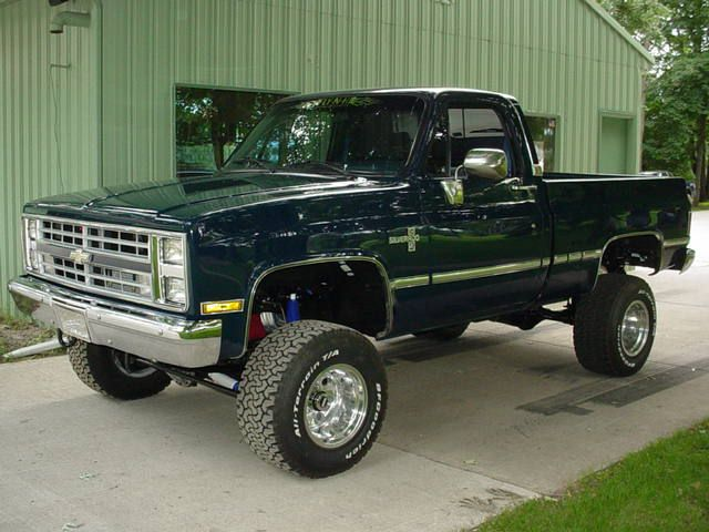 4x4 trucks | 540 Dart block, 400 Turbo, 205 Gear drive transfer case, Dana 60 rear ...
