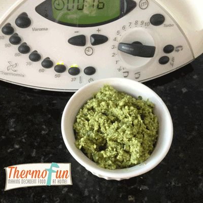 Post image for ThermoFun – Rocket, Cashew & Parmesan Chunky Dip Recipe