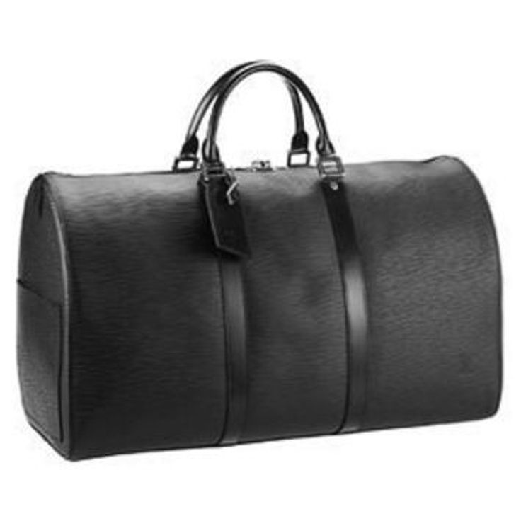 Louis Vuitton Authentic Louis Vuitton Keepall 45 in Epi Leather Black Noir Travel Size TSA Cabin Carry-On Approved Overnight Weekend Travel Luggage Boston Style Gym Duffle Bag Size one size - Bags & Luggage for Sale - Grailed