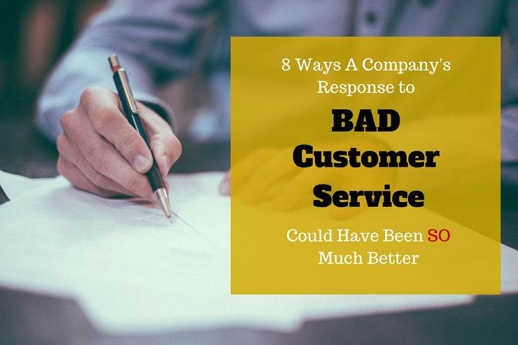 A company should respond when it receives a bad review. But, it's how they respond that's important.