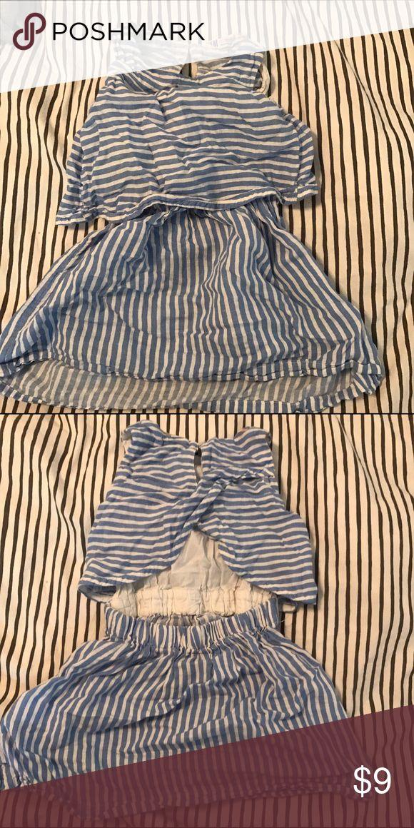 Open backed dress Girls open back dress. Super soft cotton. Excellent condition. H&M Dresses Casual