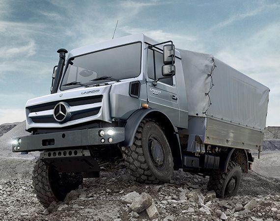 2014 Mercedes Benz Unimog U4023 & U5023   New Generation of Off Road Trucks