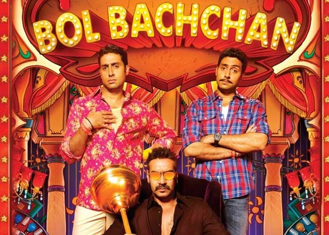 Rohit Shetty's Bol Bachchan gets mixed reviews..