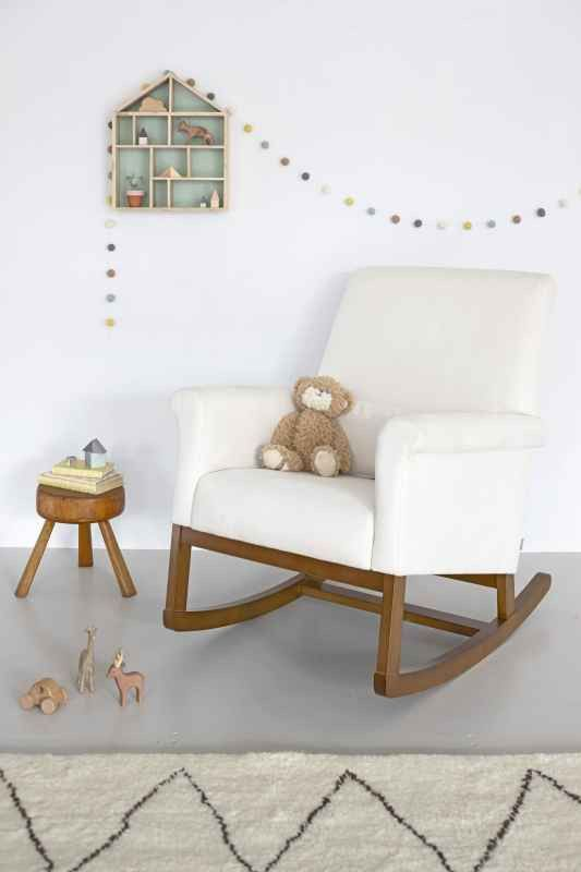 Shop Online For Free Shipping On Olli Ella Ro Ki Rocker Nursing Chair   Snow
