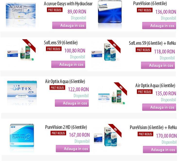 Consulta oferta noastra cu produsele aflata in promotie, pe www.medlens.ro!