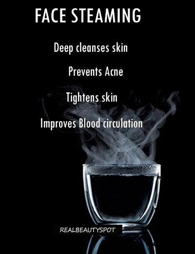 HOW TO - BENEFITS OF FACE STEAMING