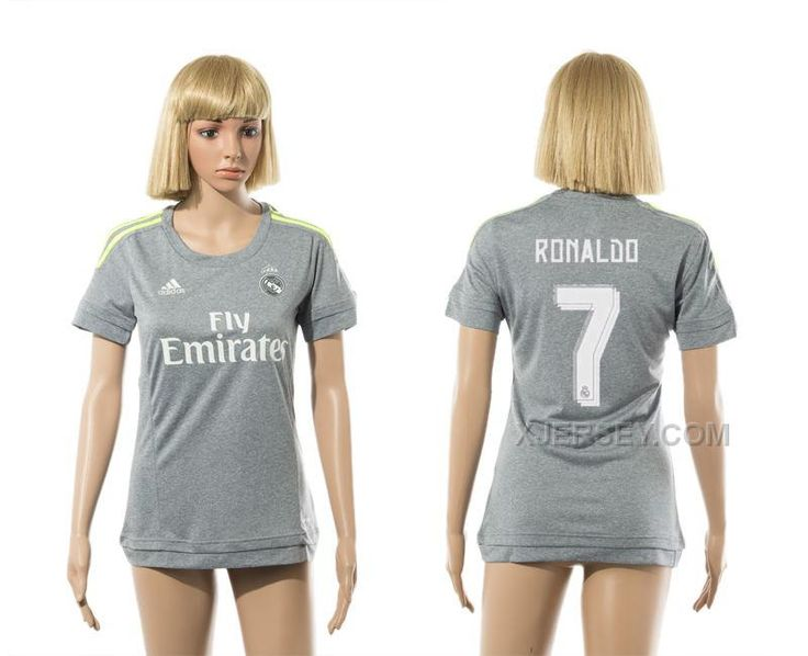 http://www.xjersey.com/201516-real-madrid-7-ronaldo-away-women-jersey.html 2015-16 REAL MADRID 7 RONALDO AWAY WOMEN JERSEY Only $35.00 , Free Shipping!