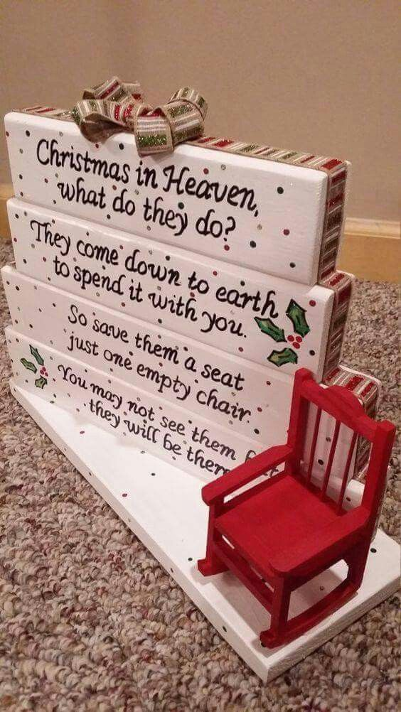Nice sentiment to keep our missing loved ones in our memories at Christmas.