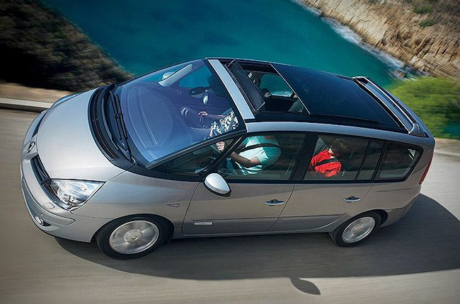 hire a Renault Espace *7 Seats* in crete