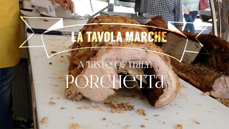 Taste of #Italy: #Porchetta (Episode 6) A slice of heaven can be found at the weekly markets in Le Marche - Porchetta! A whole pig, deboned, filled with herbs, rolled back up and slow roasted! Chef Jason Bartner from La Tavola Marche (farm, inn & cooking school) explains the recipe and how to secret to ordering it the next time you are in Central Italy!