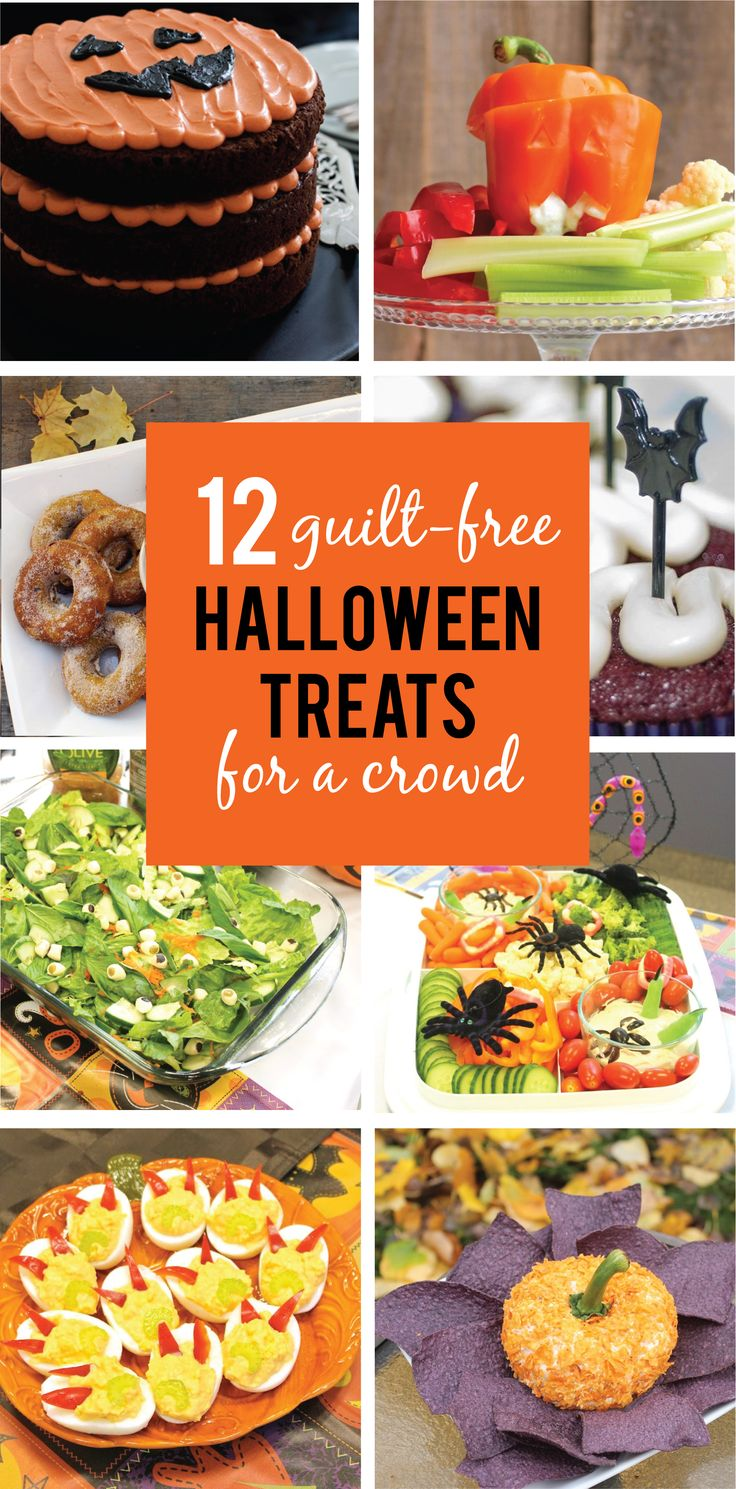 12 guilt-free Halloween treats for a crowd | Halloween ...