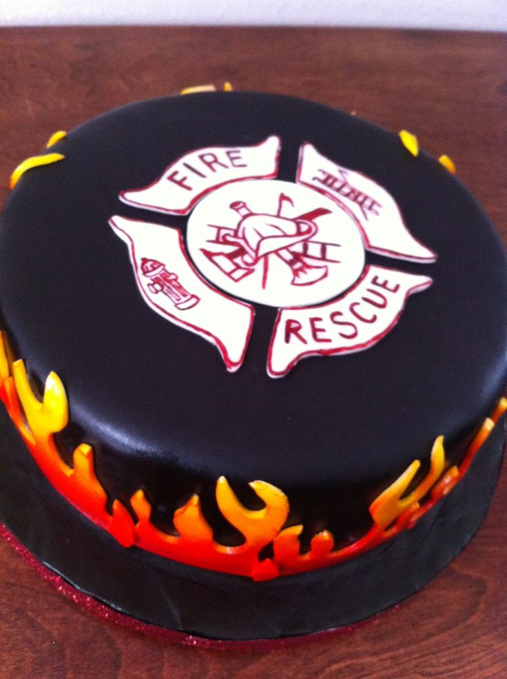 wedding+cakes+fire | Donna Belle Desserts perfectly done flames