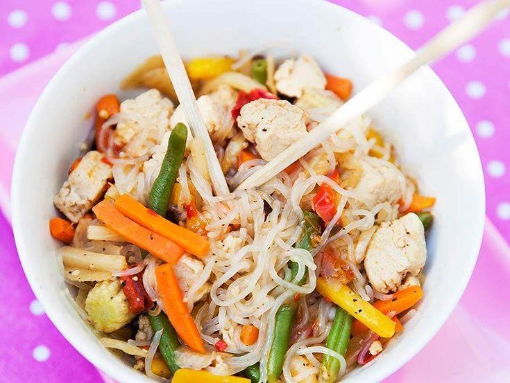 Lättlagad smal wok som passar dig som följer 5:2 dieten.