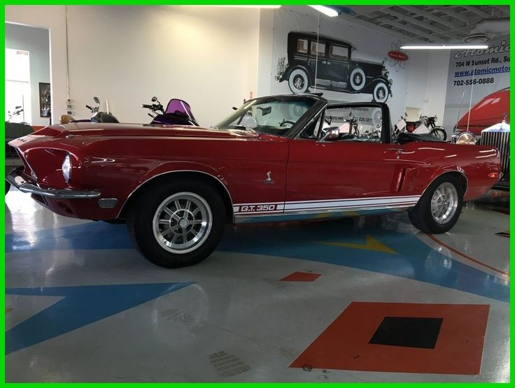 Car brand auctioned: Ford Mustang 1968 Car model ford mustang shelby gt 350 convertibile View http://auctioncars.online/product/car-brand-auctioned-ford-mustang-1968-car-model-ford-mustang-shelby-gt-350-convertibile/