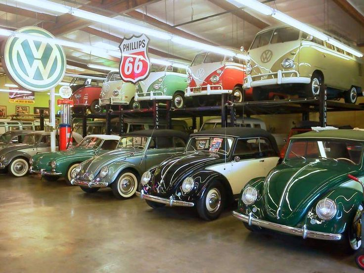 nice vintage vw garage vintage volkswagens pinterest. Black Bedroom Furniture Sets. Home Design Ideas