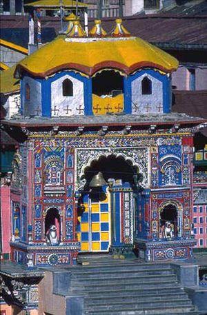 Badrinath Temple, Uttarkhand, India