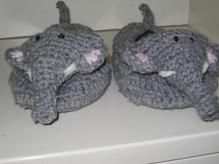 pantofole elefante