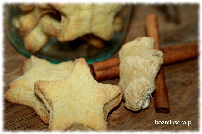 Ciasteczka imbirowe - gwiazdki