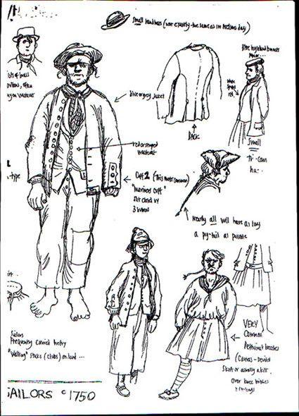 18th century sailor clothing