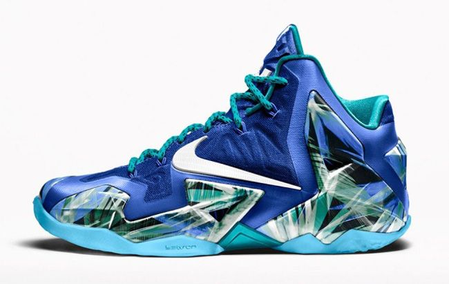 "Nike iD adds ""Everglades"" Option for LeBron 11 - EU Kicks: Sneaker Magazine"