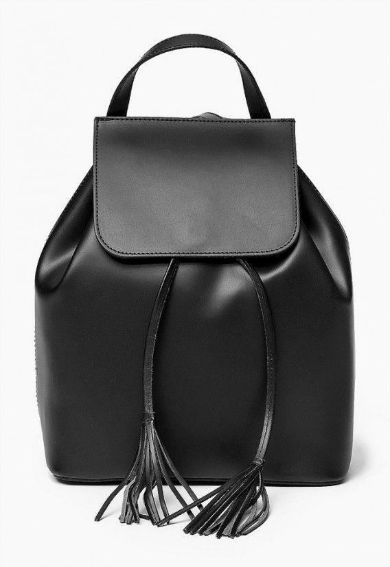 100 % skórzana Włoska Torba Plecak Czarny Oryginalna torba damska (plecak) włoskiej produkcji (Vera Pelle) wykonana ze skóry naturalnej najwyższej jakości. Skóra gładka, miła w dotyku. Nie odkształca się i nie zagina, dzięki czemu przez cały czas ma niezm