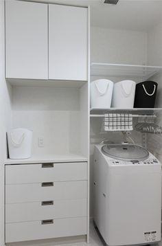 【web内覧会】脱衣室・洗濯室 ~仕様・愛用品・洗濯物干し~ - SMALL HOUSE @YOU <インテリア・収納>