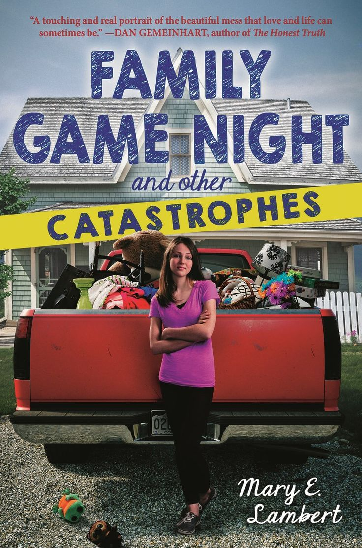 Secondary  Lambert, Mary E Family Game Night And Other Catastrophes , 256  Pages