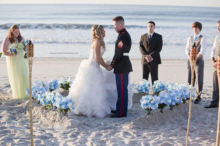 wedding photography | beach wedding jacksonville, nc photographer http://www.rachelsmithphotography.net