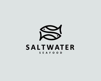 Kudos. 1st read - OK a fish restaurant but 2nd read - the 'S' incorporated into the fish and then 3rd read - the wave and feel of water whether one associates this with the ocean catch or the ocean the fish are caught in. Nice