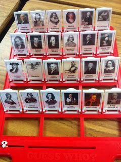 Guess Who Historical Figures. Could be adapted to middle and high school.