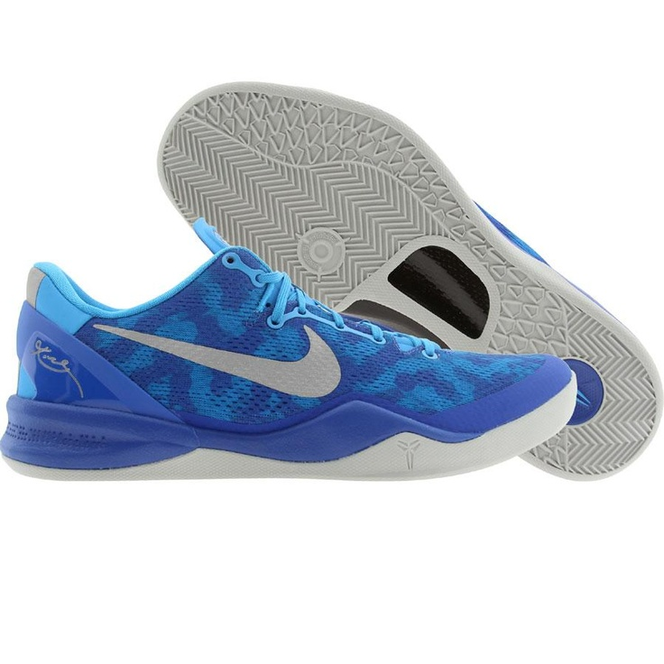 Nike Men Kobe 8 System (blue glow / strata grey / gym royal) 555035
