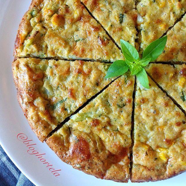 Torta de Brócolis Low Carb