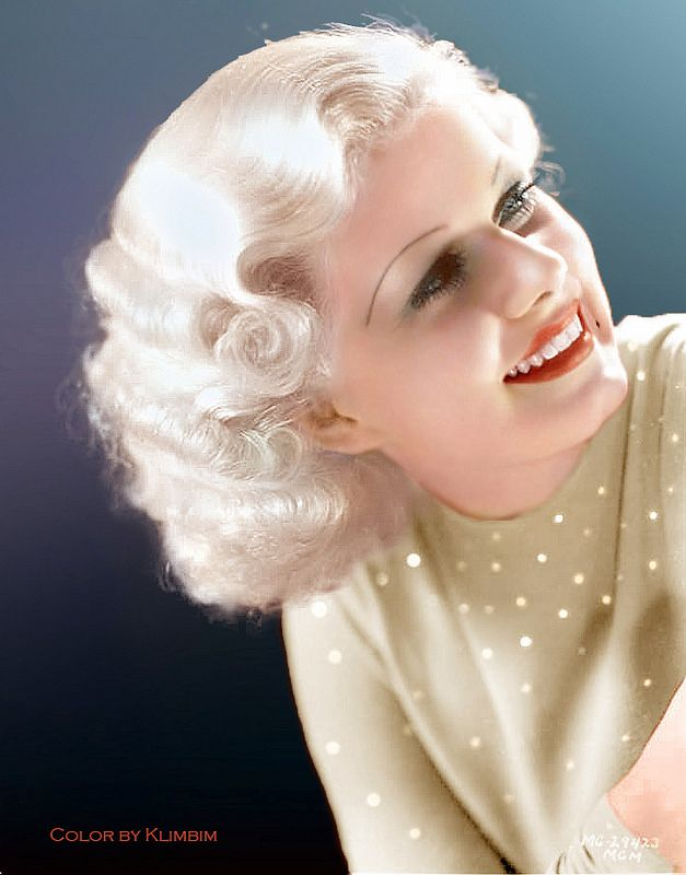 Jean Harlow - Golden Age of Hollywood