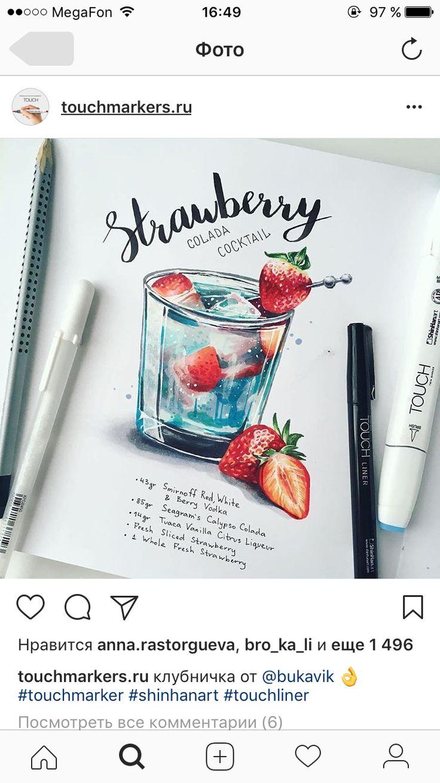 Нарисованые сладости