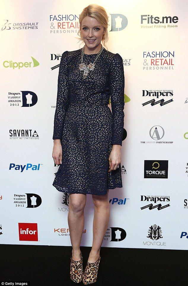 Lauren Laverne - great dress!