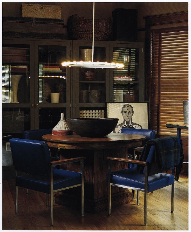 Larry Vodak, Owner, Used Industrial Glass Doored Cabinets Piled High With  Baskets And Boxes To Accentuate The Tall Ceilings. Vintage Office Chairs  Provide A ...