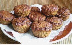 Kokosové muffiny bez cukru