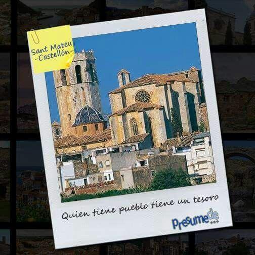Pueblos de España: #Sant #Mateu (#Castellón) ¿es el tuyo?  Síguenos en www.facebook.com/presumede y #presumede pueblo! #SantMateu #pueblosdecastellon #pueblosdelacomunidadvalenciana #pueblos