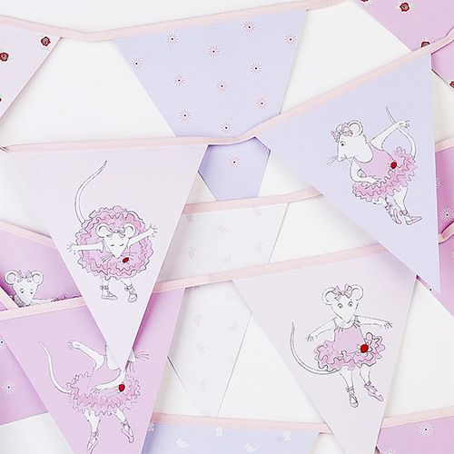 Party Ark's 'Angelina Ballerina Paper Bunting'