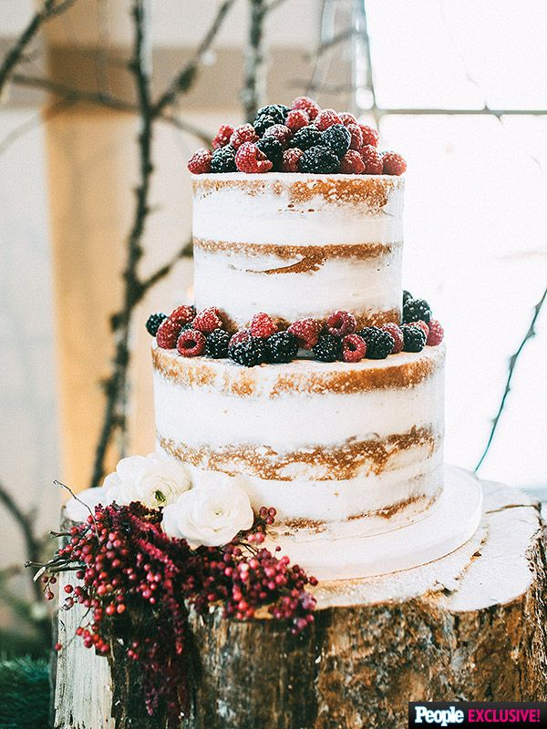 All About Dancing With the Stars' Witney Carson's 'Winter Wonderland' Wedding Cake