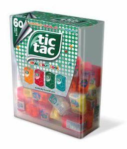 retirer étiquette boite tic tac