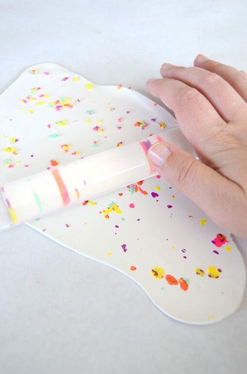 DIY Adorable Confetti Coasters Tutorial